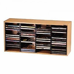 teamsix 48065 cd box st 60 buche buche hama archivierung. Black Bedroom Furniture Sets. Home Design Ideas